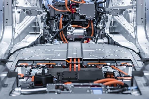 Accu elektrische auto