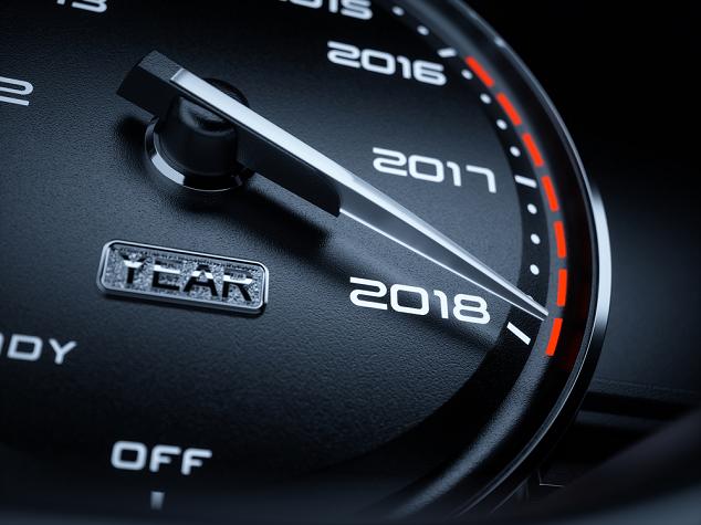 auto van het jaar 2018