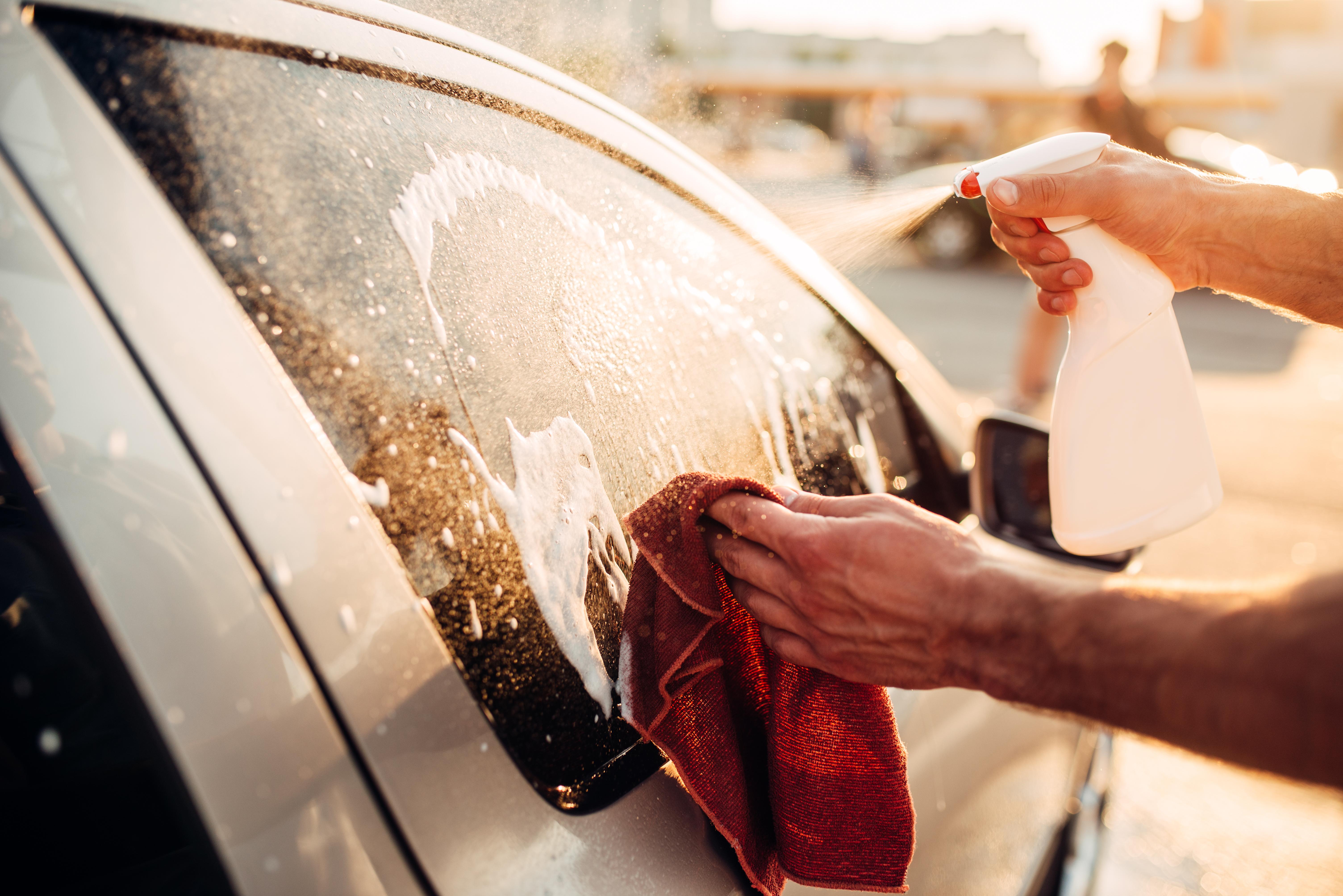 Auto verzorging zomer