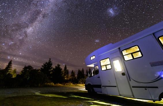 Camper vakantie