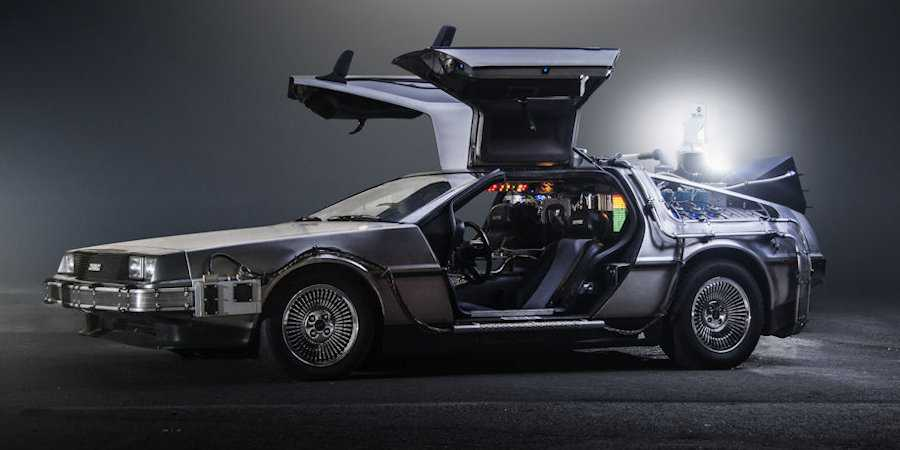 Delorean tijdmachine