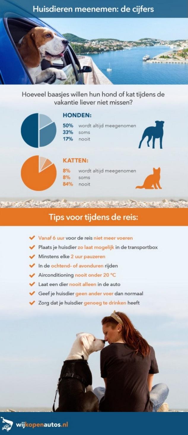 Infographic - Onderweg met huisdieren