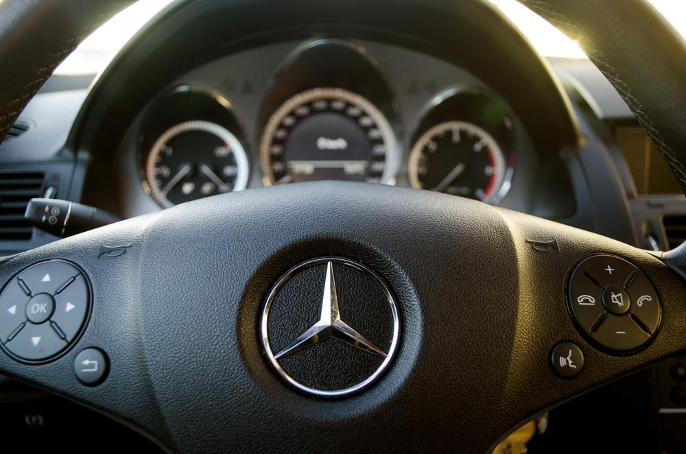 Mercedes stuur