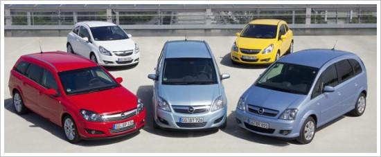 Opel Corsa - Meriva - Zafira